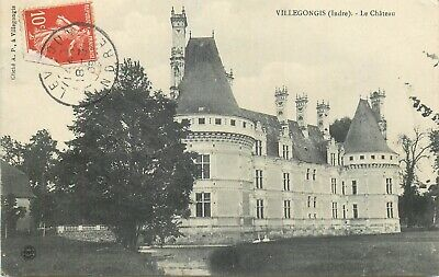 Cp Villegongis Chateau