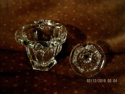 New  Baccarat Jelly Jar Great Condition  Free Shipping!