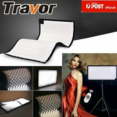 AU Travor Flexible Bi-Color 3200-5500K LED Video Lamp Photography Panel Lighting
