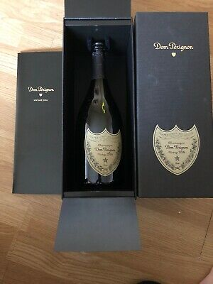 dom perignon empty bottle 2006