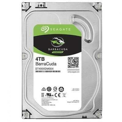 "Seagate BarraCuda 4TB 3.5"" SATA Internal Desktop Hard Disk Drive HDD Sata 3"