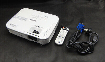 Epson EB-X11 VGA 3LCD Projector - Projects a good Image - Lamp 2343 hrs