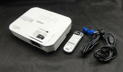 Epson EB-X11 VGA 3LCD Projector - Projects a good Image - Lamp 3880 hrs