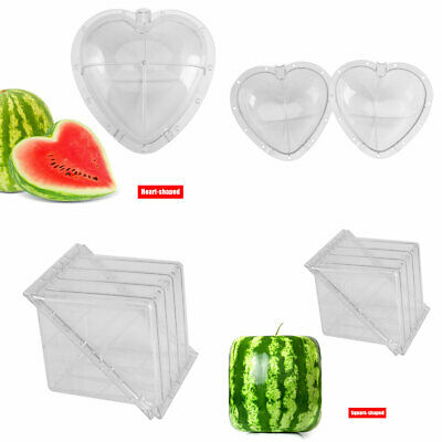 Square/Heart-shaped Watermelon Shaping Mold Gardening Fruit Growth Forming Mould
