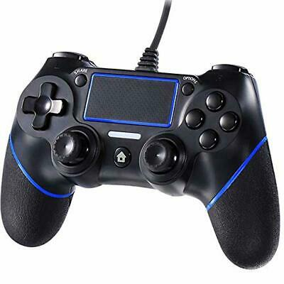 Cypin PS4 Wired Game Controller, USB Wired Dual Shock Gamepad for Playstation 4