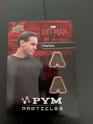 Marvel Antman Paxton Pym Particles Relic Trading Card