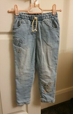 Next Girls 3-4 Years Mouse Jeans