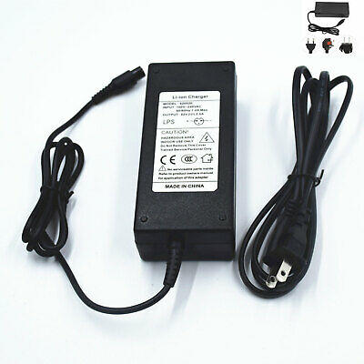 42V Lithium Battery Smart Charger Balance Car Electric Scooter Power Adapter New