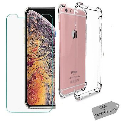 CLEAR Case For iPhone 11 Pro Max Cover Silicone Gel Shockproof Protective TOUGH
