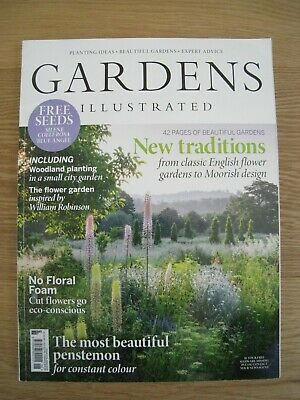 Gardens Illustrated June 2019 Only £5.50!!!!!! + Free P&P