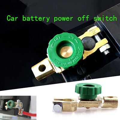 Car Battery Isolator Terminal Quick Cut-off Disconnect  Shut Kill Switch