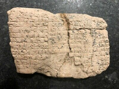 Cuneiform Tablet Fragment Contract Mesopotamian Babylonian ca. 1700 BC #2