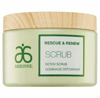 Arbonne Rescue & Renew Scrub Detox Scrub, 453g, Brand New &Sealed