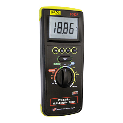 Di-Log 9083P 17th Edition & Part P Multi-Function Tester
