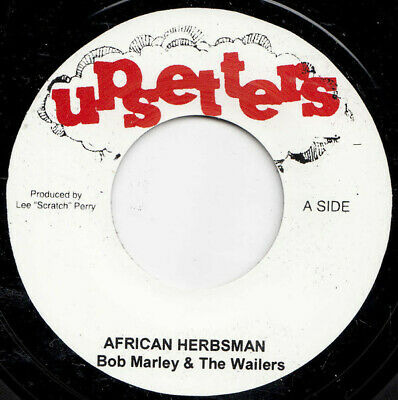 "Bob Marley & The Wailers ‎– African Herbsman MINT JA 7"" UPSETTER ROOTS"