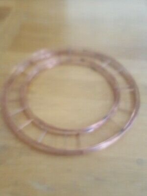 5 flat Wire Wreath Ring Frames -Christmas Moss Holly Memorial