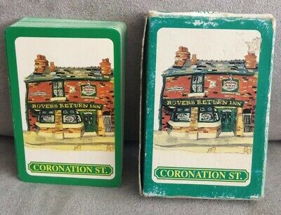 Coronation Street Pack Of Playing Cards