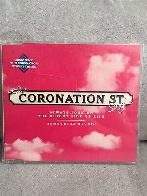 Coronation Street CD Single Always Look On The Bright Side Of Life