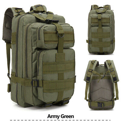 Outdoor Tactical Backpack Sport Large 30L Military Rucksack Camping Hiking Bag