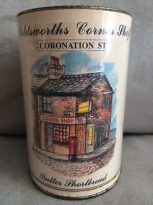 Coronation Street Tin Of Unopened Shortbread Over 20 Yrs Old Do Not Eat
