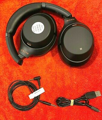 Sony WH-1000XM3 Premium Noise Cancelling Wireless Headphones WH1000XM3/B Black