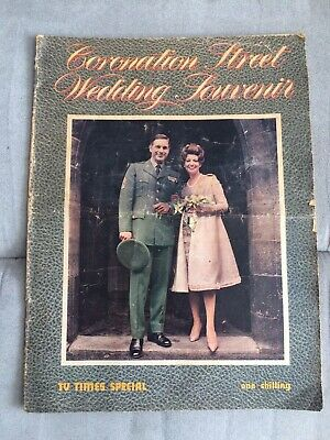 Coronation Street TV Times Wedding Souvenir Elsie Tanner