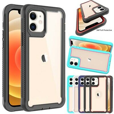 For Apple iPhone 11/11 Pro Max Rugged Heavy Duty Shockproof bumper Case Cover