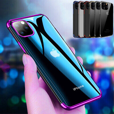For iPhone 11 Pro MAX Clear Case +Screen Protector Hybrid Shockproof Cover