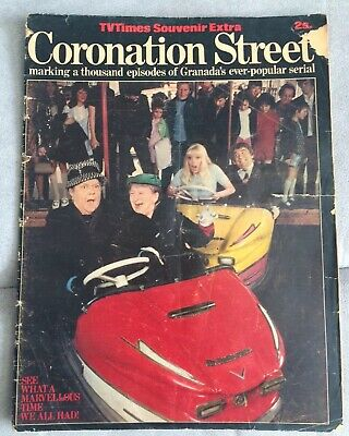 Coronation Street TV Times Souvenir Extra Of 1000 Episodes
