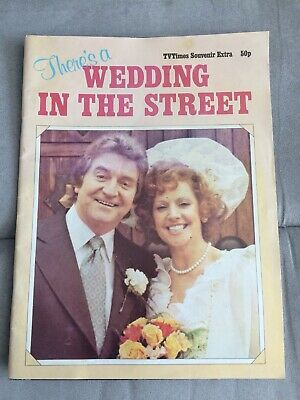Coronation Street TV Times Souvenir Wedding Of Rita Littlewood To Len Fairclough