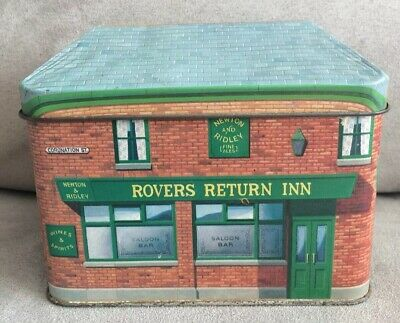 Coronation Street The Rovers Return Tea Tin