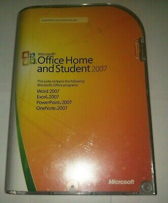 Microsoft Office Home and Student 2007 With Product Key