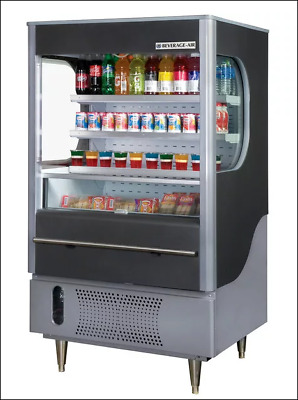 Open-Air Merchandiser Bev Air VM7-1-B-LED NEW