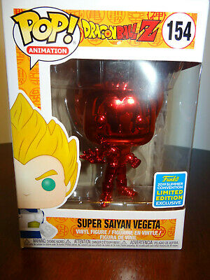 Funko Pop! Animation- Dragon Ball Z - Super Saiyan Vegeta - #154