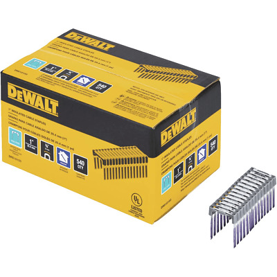 """Dewalt DRS18100 1"""" Insulated Cable Staples for DCN701 Stapler NEW"""