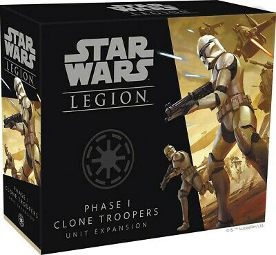 Phase I Clone Troopers Unit Expansion Star Wars Legion FFG PRESALE