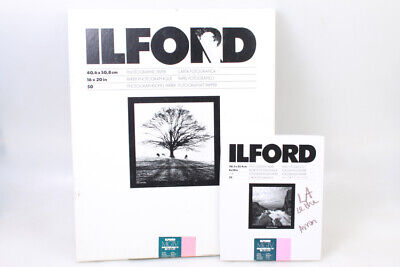 Ilford Photographic Paper Multigrade Iv Rc Deluxe .44M Glossy 16X20   8X10