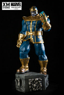 XM Studios 1/4 scale Thanos Statue Figure w/ coin US Seller FREE SHIP