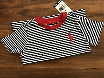 Polo Ralph Lauren Boy's Big Pony Cotton Jersey Tee Size 18 Months