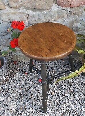 stool, vintage french stool,plant stand,rustic, country, low table