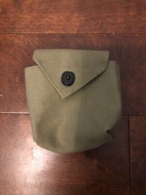 """Reproduction Paratrooper """"Rigger Made"""" WW2 US Army Airborne Pouch"""
