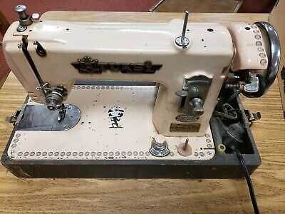 Atlas Deluxe Percision Vintage Sewing Machine