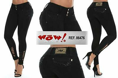 Wow Jeans Colombianos Authentic Colombian Push Up Jeans Levanta Cola Butt Lift