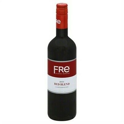 SUTTER HOME, WINE,RED,ALCHOL REMOVED 25.4 FZ Pack of 6