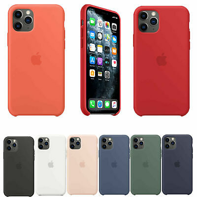 Genuina funda Case de silicona dura para Apple iPhone 11 Pro Max