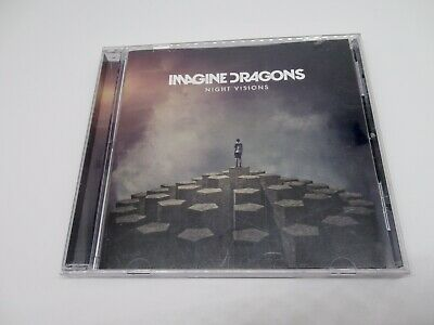 Imagine Dragons Night Visions Compact Disc with Insert and Case 2012 Interscope