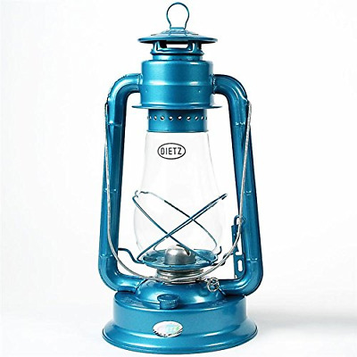 Dietz #80 Blizzard Oil Burning Lantern (Blue) 14 3/4 inch height with a 7/8 inch