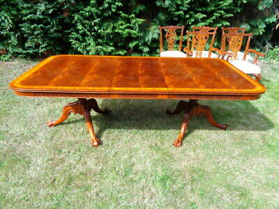 Charles Barr Extending Mahogany Dining Table Antique Style