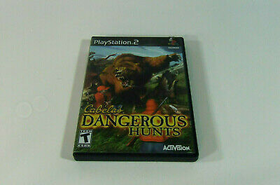 Sony Ps2 Cabelas Dangerous Hunts Complete