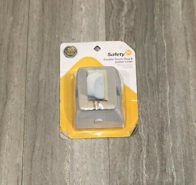 New Safety 1st Childsafe Double Touch Plug and Electrical Outlet Covers 2 pack